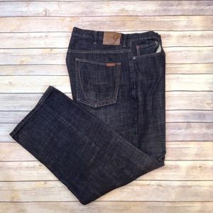 Sean John Garvey loose fit black jeans